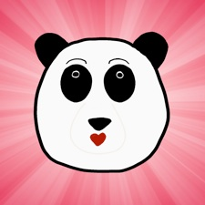 Unbearably Adorable Panda Stickers marketing image